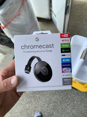 Chromecast never used for Sale in Federal Way, WA