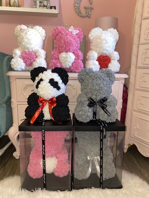 Rose Teddy Bears for Sale in Carson, CA