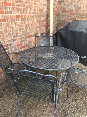 Wrought iron patio furniture for Sale in Brentwood, TN