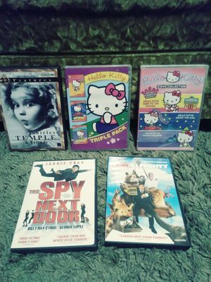 Hello Kitty and other kid movies for Sale in Akron, OH