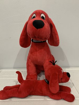Clifford plushies for Sale in Brookfield, IL