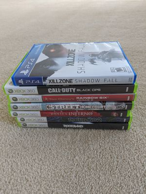 Xbox 360 games and PS4 Game for Sale in Rancho Cucamonga, CA