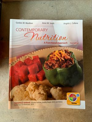 Wardlaw Contemporary Nutrition 3rd edition for Sale in Carlsbad, CA