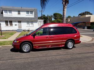 1997 Chrysler town country w/high top rare for Sale in Chula Vista, CA