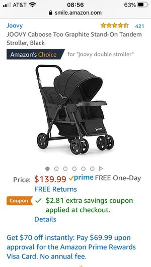 Joovy double stroller for Sale in Campbell, CA