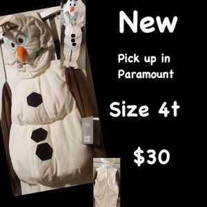Olaf frozen costume for Sale in Paramount, CA