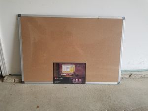 Cork Board w/ Mounting Kit for Sale in Normal, IL