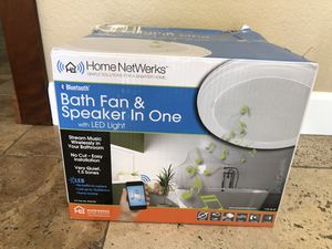Brand New Bath Fan and Bluetooth Speaker for Sale in Carlsbad, CA