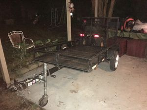 4x7 trailer / traila 4x7 for Sale in Humble, TX