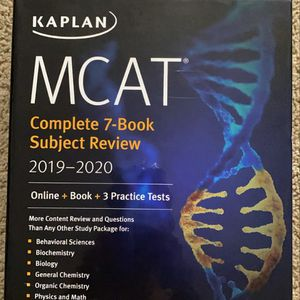 MCAT Study Materials/test Prep for Sale in Chino, CA