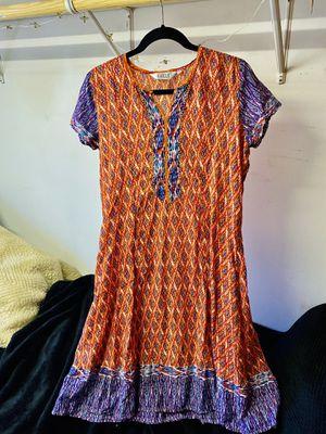 BIBA colorful orange dress shirt sleeve . Size S for Sale in Rancho Santa Margarita, CA