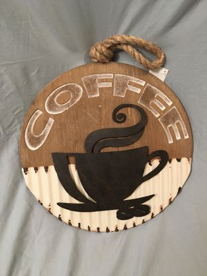 "Coffee Sign Kitchen Decor 16"" for Sale in Phoenix, AZ"