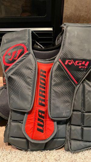 Warrior R/G4 Goalie chest protector for Sale in Mattawan, MI