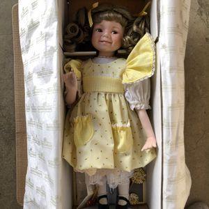 Vintage Ashton Drake Sunshine And Lollipops Porcelain Doll by Dianna Effner for Sale in Redlands, CA