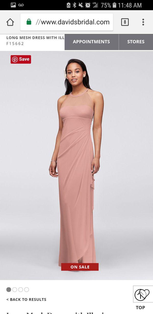 d9e80ab4ca David s Bridal Bridesmaid Dress Size 6 for Sale in Santa Clarita