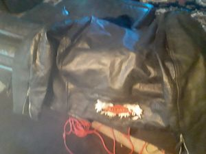 Used 100% leather Harley-Davidson jacket extra large for Sale in Erial, NJ