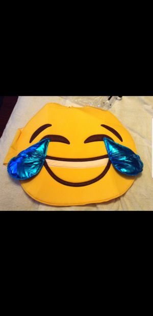 Halloween Costume Emoji 1 size fits all Adult/Child for Sale in Whittier, CA