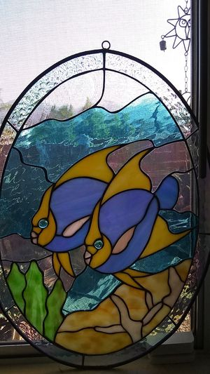 Stained glass fish for Sale in El Cajon, CA