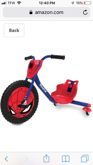 Spider-Man 360 bike for Sale in Pittsburgh, PA