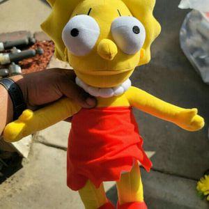 20in Lisa Simpson Plush Doll for Sale in Pomona, CA