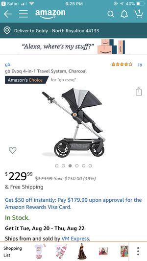 Gb evoq stroller for Sale in North Royalton, OH
