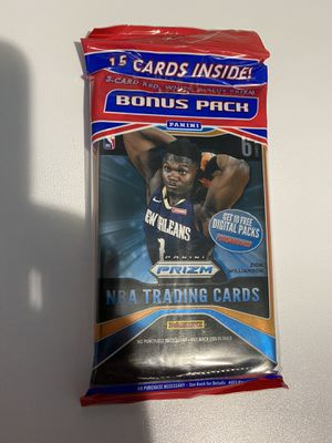 NBA prizm Cello pack for Sale in Norco, CA