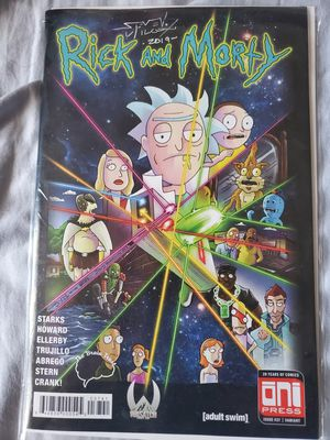 Cartoon Network Rick and Morty Variant Auto Steven Wilcox for Sale in Madera, CA
