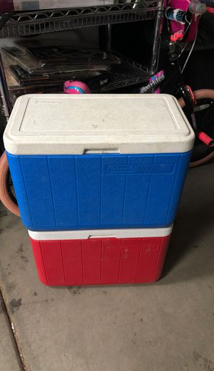 Coleman coolers $15 for both! for Sale in Litchfield Park, AZ