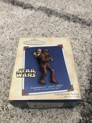 Chewbacca and C-3PO Hallmark ornament 2004 for Sale in Carlsbad, CA