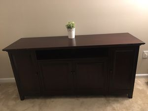 Pottery barn elegant cherrywood dresser/ entertainment unit for Sale in Germantown, MD
