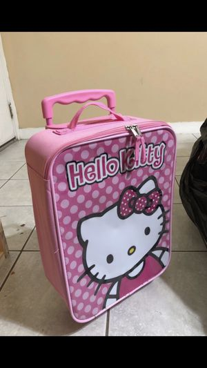 Hello kitty suitcase 🧳 for Sale in Houston, TX