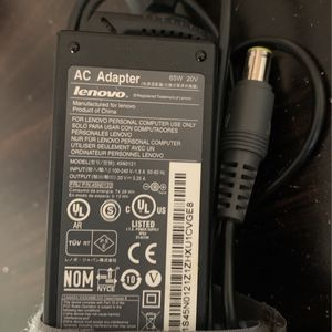 Lenovo Laptop Charger 65W 20V for Sale in Chicago, IL