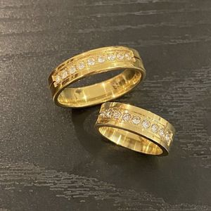 18K Gold plated Matching Ring Set - Round Cut for Sale in Dallas, TX