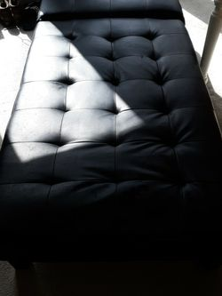 Black Couch / Divan / Backless Sofa for Sale in College Park,  GA