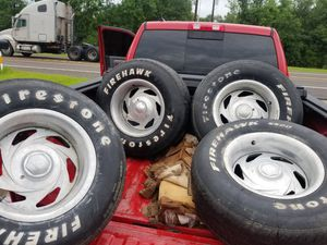 """15"""" rims not sure on bolt pattern but take a look at them pictures. for Sale in OLD RVR-WNFRE, TX"""