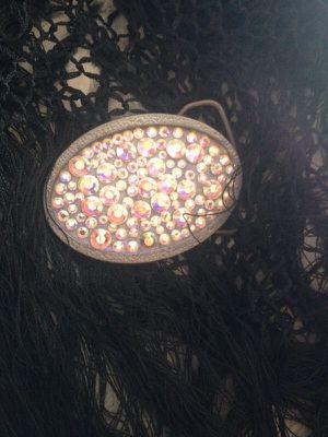 Small crystal belt beckle for Sale in Scottsdale, AZ