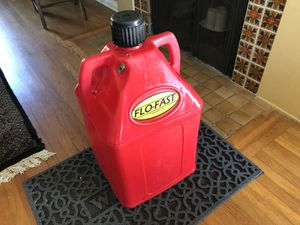 15 gal Flo-fast red plastic utility jug. 5 available for Sale in San Diego, CA