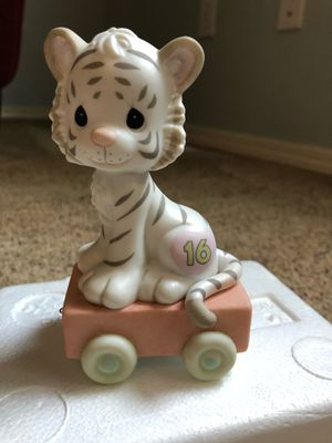"Precious Moments Birthday Train ""16 and Feline Fine"" w/box for Sale in Bothell, WA"