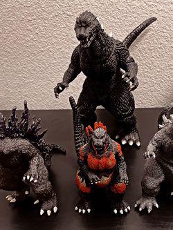 Godzilla Toho Co., Ltd. Godzilla Action Figure Collection. for Sale in Portland,  OR