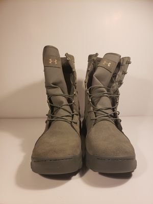 Under Armour Fnp Military and Tactical Boots- Sage 1287352-385 Size 12 for Sale in Chantilly, VA