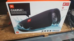 Jbl charge 3 brand new bluetooth speaker for Sale in Baltimore, MD