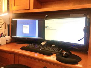 """Large 23.5"""" Acer Monitors (Only had for 8 months) for Sale in Hollywood, FL"""