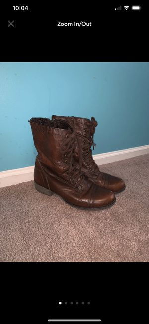steve madden troopa boots for Sale in Churchville, PA