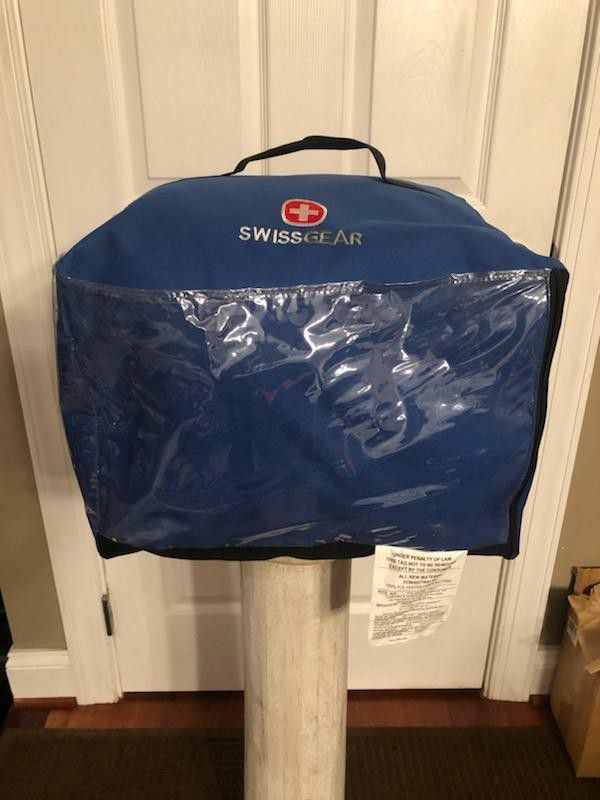 SwissGear oversized 35x90 sleeping bag with hood