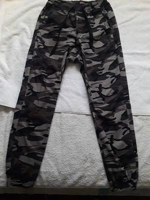 Grey camo pants for Sale in City of Industry, CA