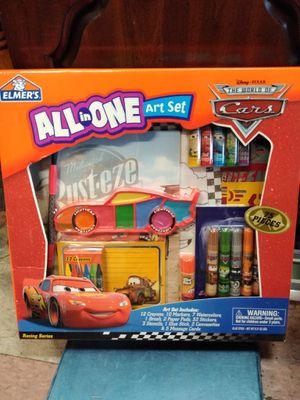 Elmer's all-in-one art set 75 PC's Disney Cars for Sale in Philadelphia, PA