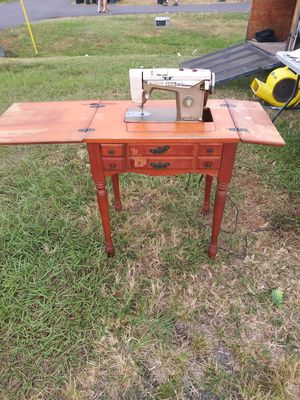 Emdeko sewing machine & cabinet for Sale in Largo, FL
