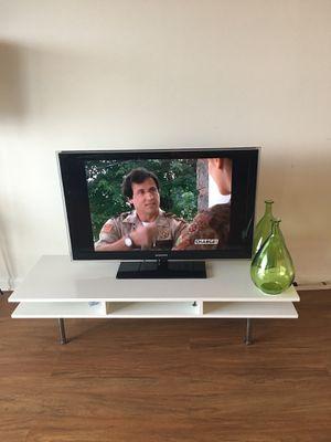 White Modern tv stand for Sale in Arlington, VA