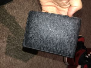 My wallet for sale. Single wallet( 8 cardholder pockets, 2 cash pockets, and two hidden inside pockets. for Sale in Mableton, GA