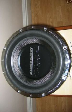 12 INCHES SUBWOOFER AUDIOBHAN INMORTAL 2000 WATT RMS for Sale in San Leandro, CA